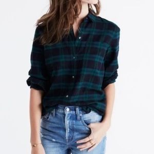 Madewell Classic Button Up NWT